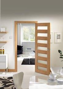 Internal Oak Glazed Tivoli Door