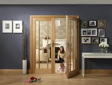 Internal Oak Worcester Door Pair