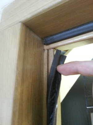 External oak door frame with weather seal & Weatherproofing wooden front doors - Modern Doors Blog pezcame.com