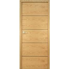 Sofia Bespoke Internal Door in Oak