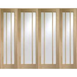 Worcester Oak Room Divider Set W8