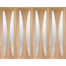 Verona Oak Room Divider Set W8