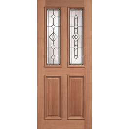 Derby Leaded Hardwood External Door