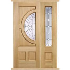 Empress Oak External Side Panel Door Set
