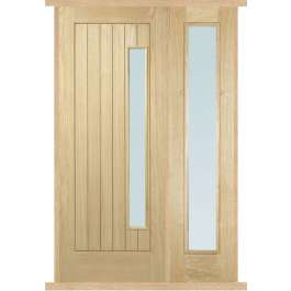 Newbury Oak External Side Panel Door Set