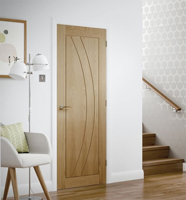 Salerno Oak Prefinished Internal Door Modern Doors