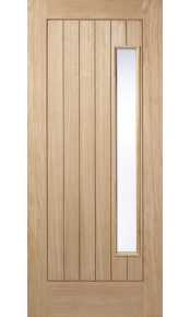Newbury Oak External Warmer Door