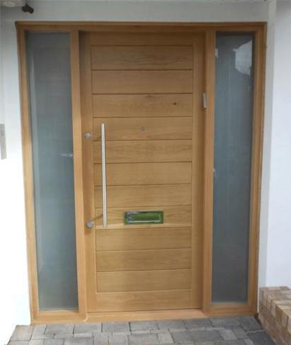 Modern doors gallery for Oak front doors
