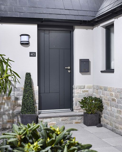 Fernanado Composite External Door Set in Situ