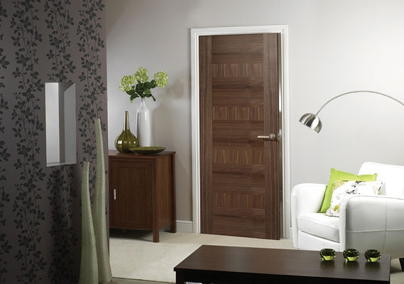 Monaco Walnut Internal Door