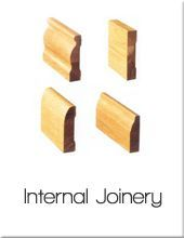 Internal Joinery - Frames, Architraves, Skirting
